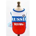 Майка RUSSIA PET FIFA на собаку, кошку