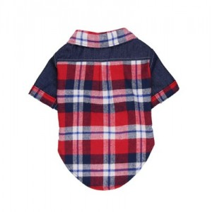 Рубашка летняя  в стиле кантри на собаку или кошку