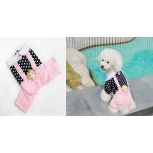 Костюм летний на собаку - с куколкой на спинке