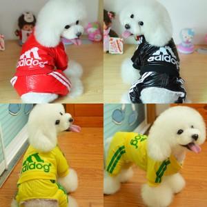 "Зимний комбинезон для собак ""Adidog"""