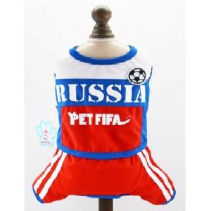 Спортивный костюм RUSSIA PET FIFA для собак