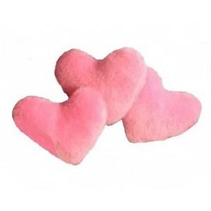 Сердце-меховая игрушка для собак или кошек