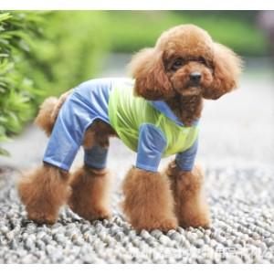Дождевик со светоотражателями для собак