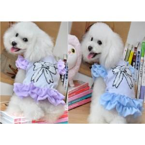 Платье нежное с рюшами для собаки или кошки