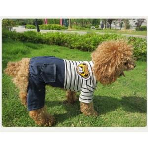 """Костюм  """"Мишка"""" трикотажный с джинсовыми штанами"""