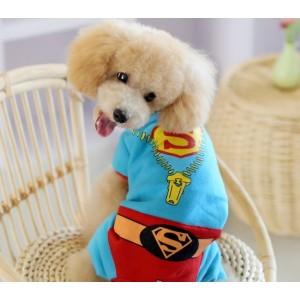 """Костюм """"Superman"""" для  собаки - 3XL размер"""